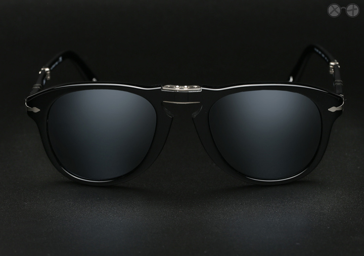 Persol 714SM X Eygoodies Custom Projects: Black Ice sunglasses