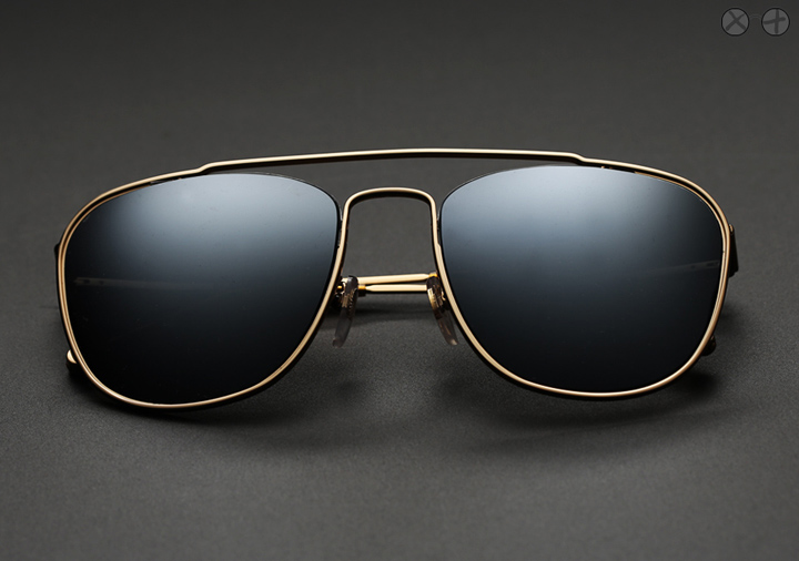 Super Numero 47 X Eygoodies Custom Projects: Black Ice sunglasses