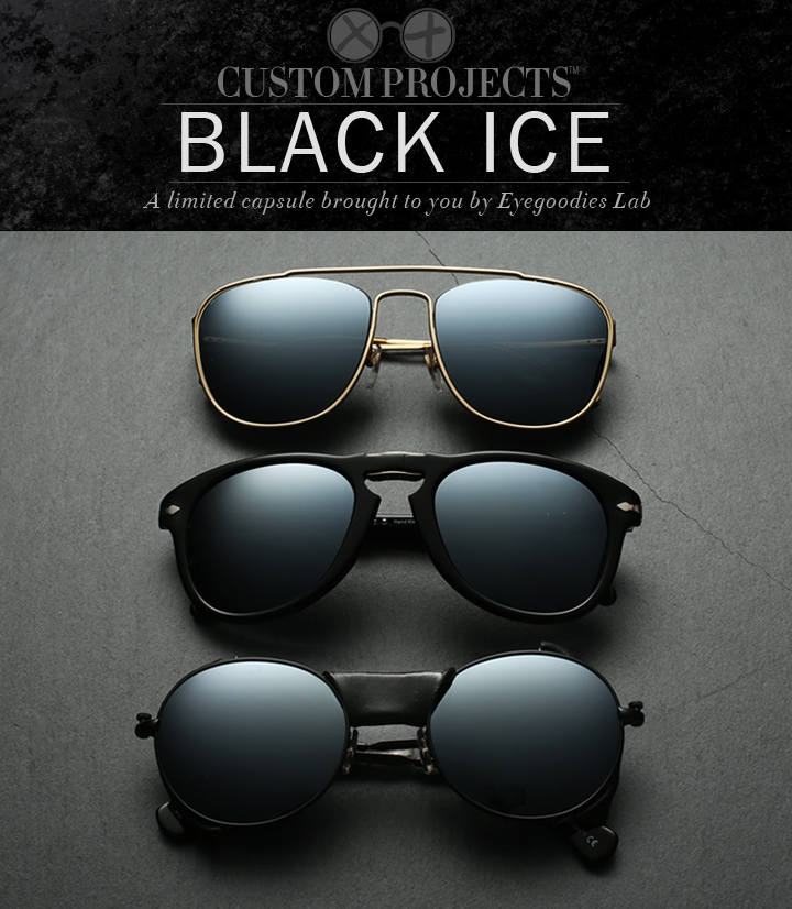 Eyegoodies Custom Projects: Black Ice