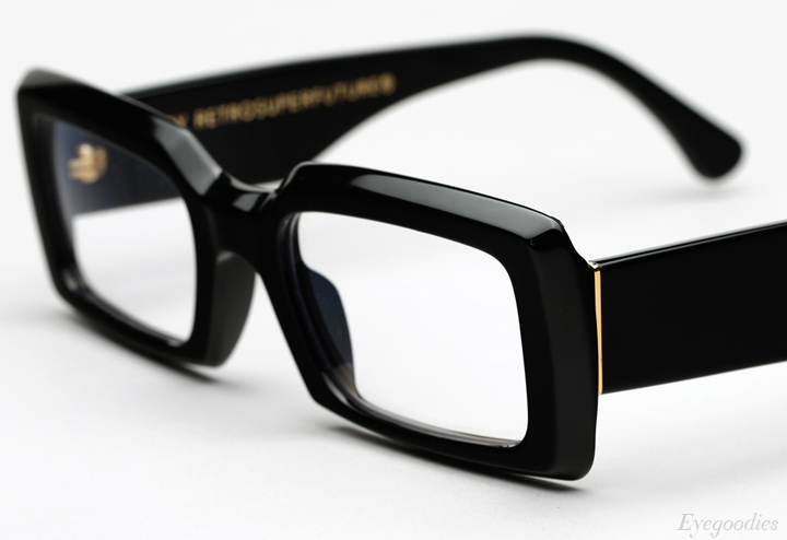 Super Sacro Black eyeglasses