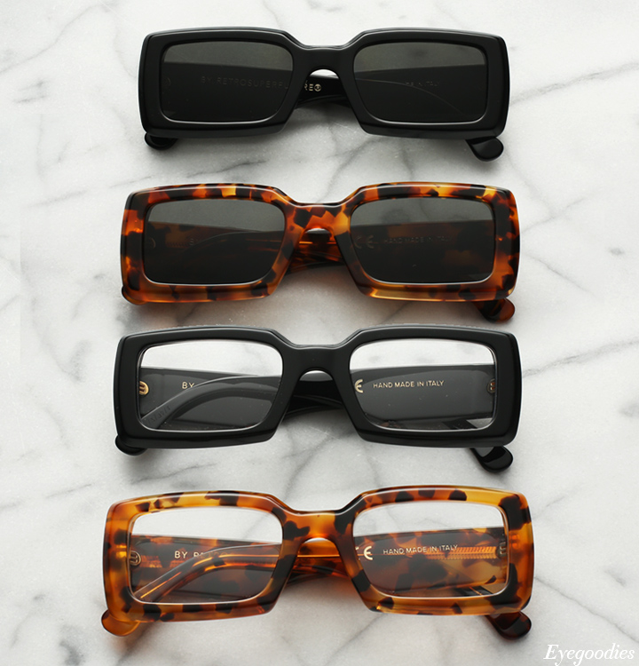 Super Sacro sunglasses and Sacro Eyeglasses