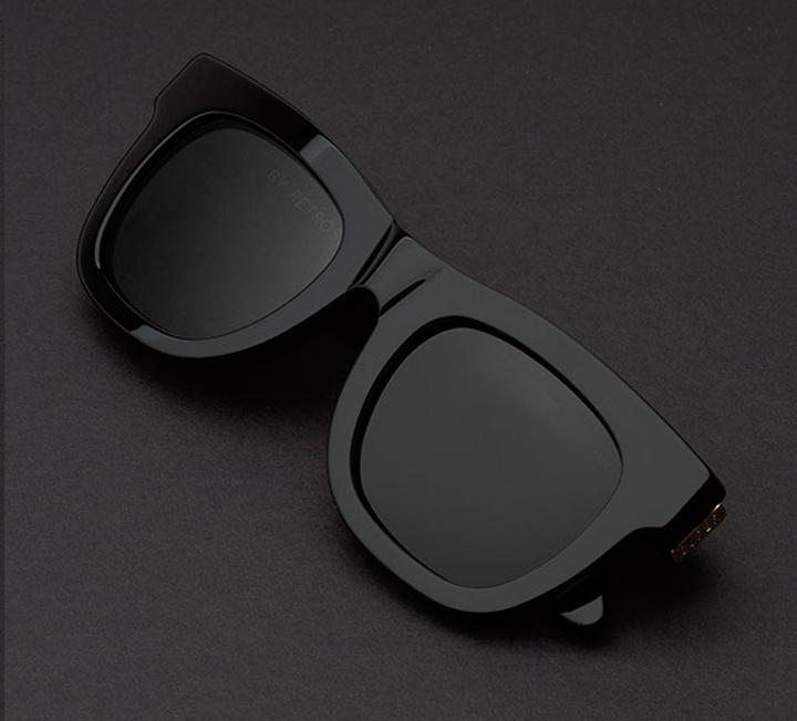 Super Ciccio Black Sunglasses