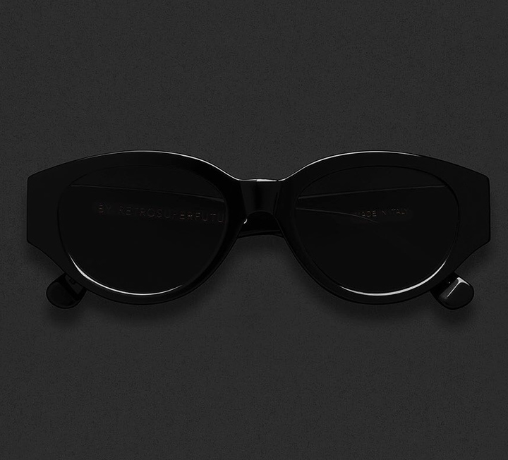 Super Drew Mama Black Sunglasses