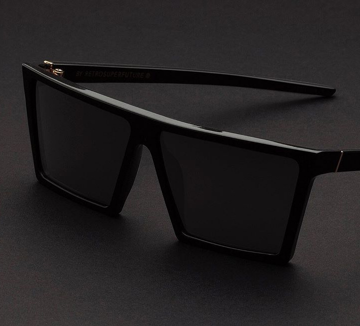 Super W Black sunglasses