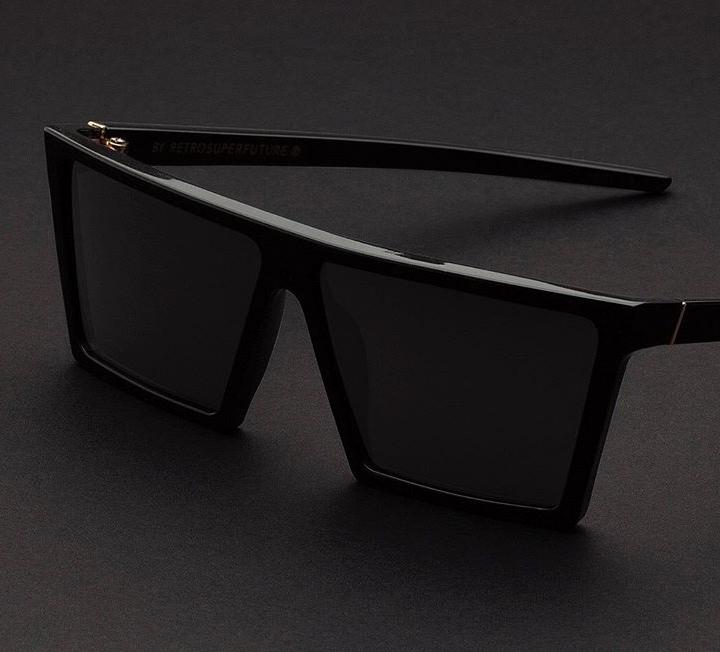 Super W Black sunglasses