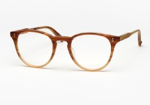Garrett Leight Milwood - Matte Blonde Tortoise Fade (Eye)