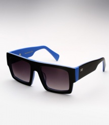 AM Eyewear Mesh - Black/Blue LTD