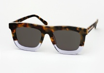 Karen Walker Deep Orchard - Tortoise / Clear