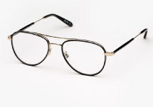 Garrett Leight Linnie - Matte Black
