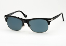 Persol 3034 - Black w/ Blue Polarized