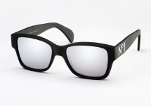 Vintage Frames Company Dice N1 - Matte Black and Silver