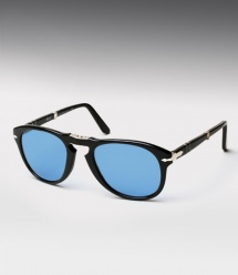 Persol 714 Custom - Black / Custom Blue