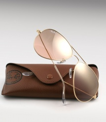 Ray Ban Aviator RB 3025 - Gold / Pink Mirror