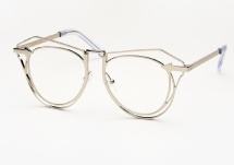 Karen Walker Marguerite - Silver (Eye)