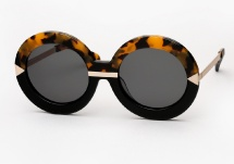 Karen Walker Hollywood Pool - Tortoise / Black