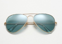 Ray Ban Aviator RB 3025 - Gold / Sky Blue Polarized
