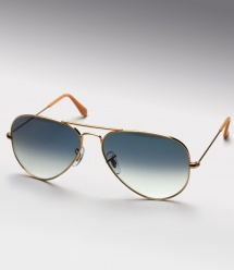 Ray Ban Aviator RB 3025 - Gold / Blue Gradient