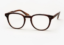 Garrett Leight Mckinley - Matte Whiskey Tortoise (Eye)