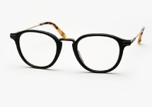 Garrett Leight Hampton Combo - Matte Black (Eye)