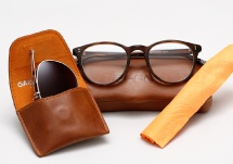 Garrett Leight Milwood - Brandy Tortoise + Clip (Eye)