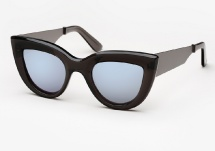 Ellery Quixote - Smoked Grey & Brushed Gunmetal