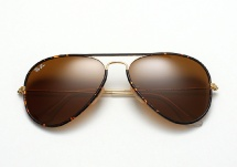 Ray Ban RB 3025JM Aviator Full Color - Havana