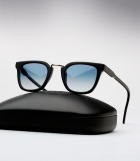 Cutler and Gross 1066 - Matte Black / Shiny Black