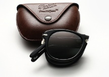 Persol 714SM - Black w/ Grey Gradient
