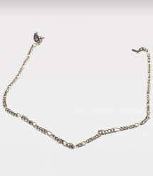 Pewter Figaro Eyeglass Chain