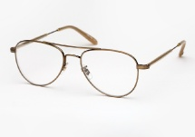 Garrett Leight Linnie - Brushed Gold