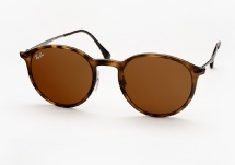 Ray Ban RB 4224 Round Light Ray - Matte Havana