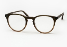 Garrett Leight Milwood - Matte Olive Tortoise Fade (Eye)