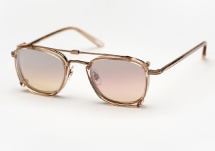 Garrett Leight Garfield - Copper / Nude + Clip (Eye)