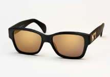 Vintage Frames Company Dice N1 - Matte Black and Gold