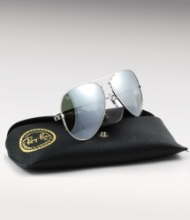 Ray Ban Aviator RB 3025 - Silver / Silver Mirror
