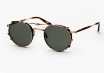 Garrett Leight Wilson - Matte Black + Clip (Eye)
