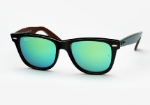 Ray Ban RB 2140 Wayfarer Bicolor - Black / Green