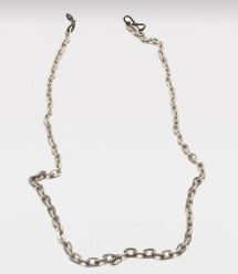 Pewter Cable Link Eyeglass Chain