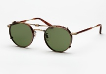 Garrett Leight Wilson - Matte Butterscotch + Clip (Eye)
