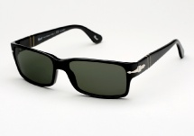 Persol 2803 - Black w/ G15 Polarized