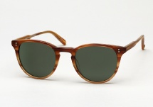 Garrett Leight Milwood - Matte Blonde Tortoise Fade