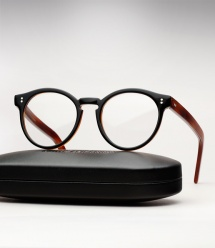 Cutler and Gross 1097 - Black on Dark Turtle
