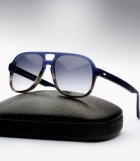 Cutler and Gross 0995 - Navy Blue Gradient