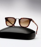 Cutler and Gross 1066 - Matte Dark Turtle / Honey Tortoise