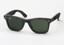 Ray Ban RB 2140 Denim Wayfarer - Black
