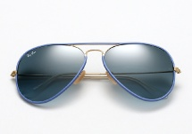 Ray Ban RB 3025JM Aviator Full Color - Light Blue