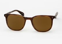 Garrett Leight Bentley - Matte Brandy Tortoise