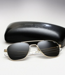 Randolph Engineering Aviator - 23K Gold / Grey Polarized