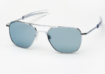Randolph Engineering Aviator - Bright Chrome / Blue