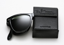 Ray Ban RB 4105 Folding Wayfarer (54mm) - Black
